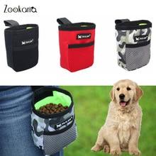 Портативная мини-сумка для тренировок и закусок для собак, уличные принадлежности для питомцев, Прочная износостойкая поясная сумка большо...