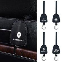 1 pièces intérieures automatiques siège de rangement arrière crochet emblème accessoires de voiture pour Lexus RX 300 est 250 300 GX 400 460 UX 200 NX LX GS ES 350