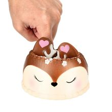цена на Newest Slow Rising Squishies Jumbo 8.7cm Kawaii Cake Scented Squishy Charm Slow Rising Simulation Kid Toy Key Cell Phone Penda