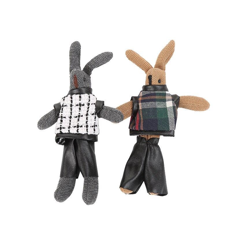 Permalink to Dress Wishing Rabbit Bear Plush Toy Stuffed Animals Present Decor Keychain Kid'S Party Toy Bouquet Plush Dolls Girls Bag Pendant