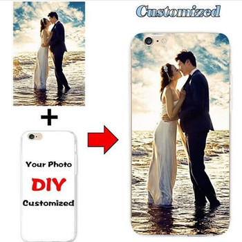 DIY Custom Design Phone Case for Alcatel Shine Lite 5080X 5080 Photo Cover Printed Customize image