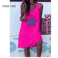 Kadınlar 2020 gevşek çiçek Vintage kayış Ruffles yıldız Befree elbise büyük büyük yaz pamuk camiş parti plaj elbiseleri artı boyutu