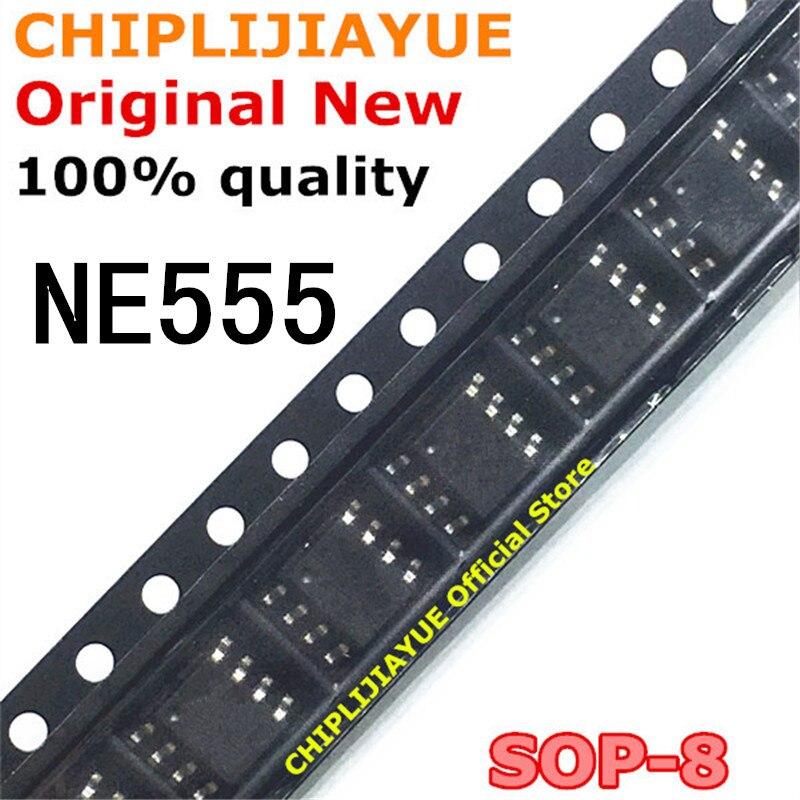 10-20 шт. NE555 555 SOP8 NE555D таймеры SMD SOP-8 SOP новый и оригинальный IC чипсет