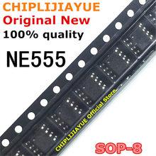 10-20 шт. NE555 555 SOP8 NE555D таймеры SMD SOP-8 SOP новый и оригинальный чипсет IC
