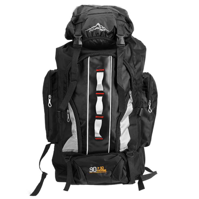 Image 3 - 100L Large Capacity Outdoor Sports Backpack Waterproof Travel Bag Hiking Climbing Fishing Camping Bags for Men and WomenClimbing Bags   -