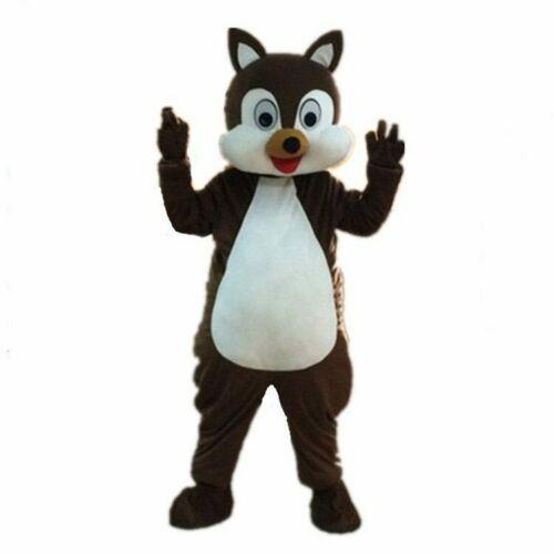 Halloween écureuil mascotte Costume Costume Cosplay fête déguisements tenues publicité Promotion carnaval pâques adultes défilé nouveau
