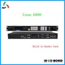 Linsn X2000 ÉCRAN VIDÉO LED Processeur Intégré d'envoi Linsn Carte Avec Linsn Recevant La Carte (Comme RV901/RV908. ..)