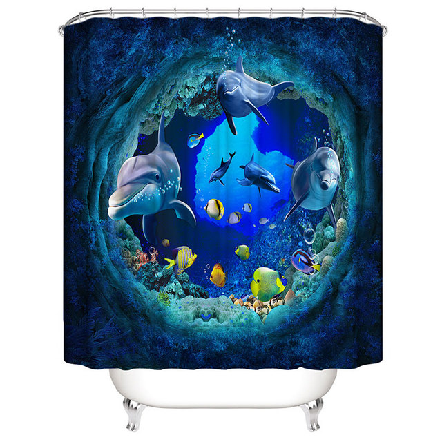 Shower Curtain 180cm 1