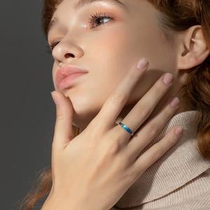 Image 4 - Thaya מקורי עיצוב s925 סטרלינג כסף ערפילית טבעות זוג אופנה טבעות לנשים אלגנטי תכשיטים
