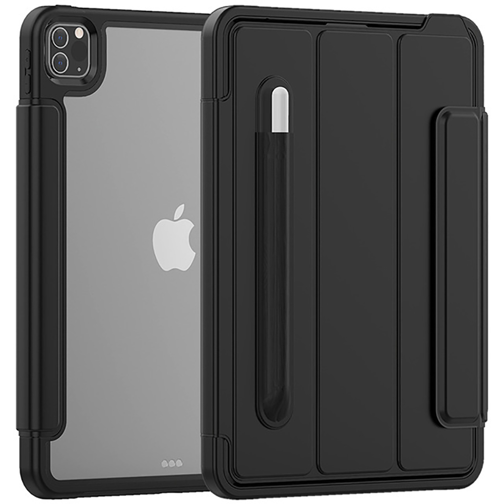 Black Other Clear Case for iPad Pro 11Inch 2020 Tough Flexible Cover Ultra Thin Air Guard Corner Protective