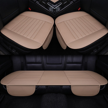 Pu Leather Car Seat Cover Covers for Automobile Accessories for Ssangyong Actyon Korando Kyron Rexton Covers for The Car Cushion