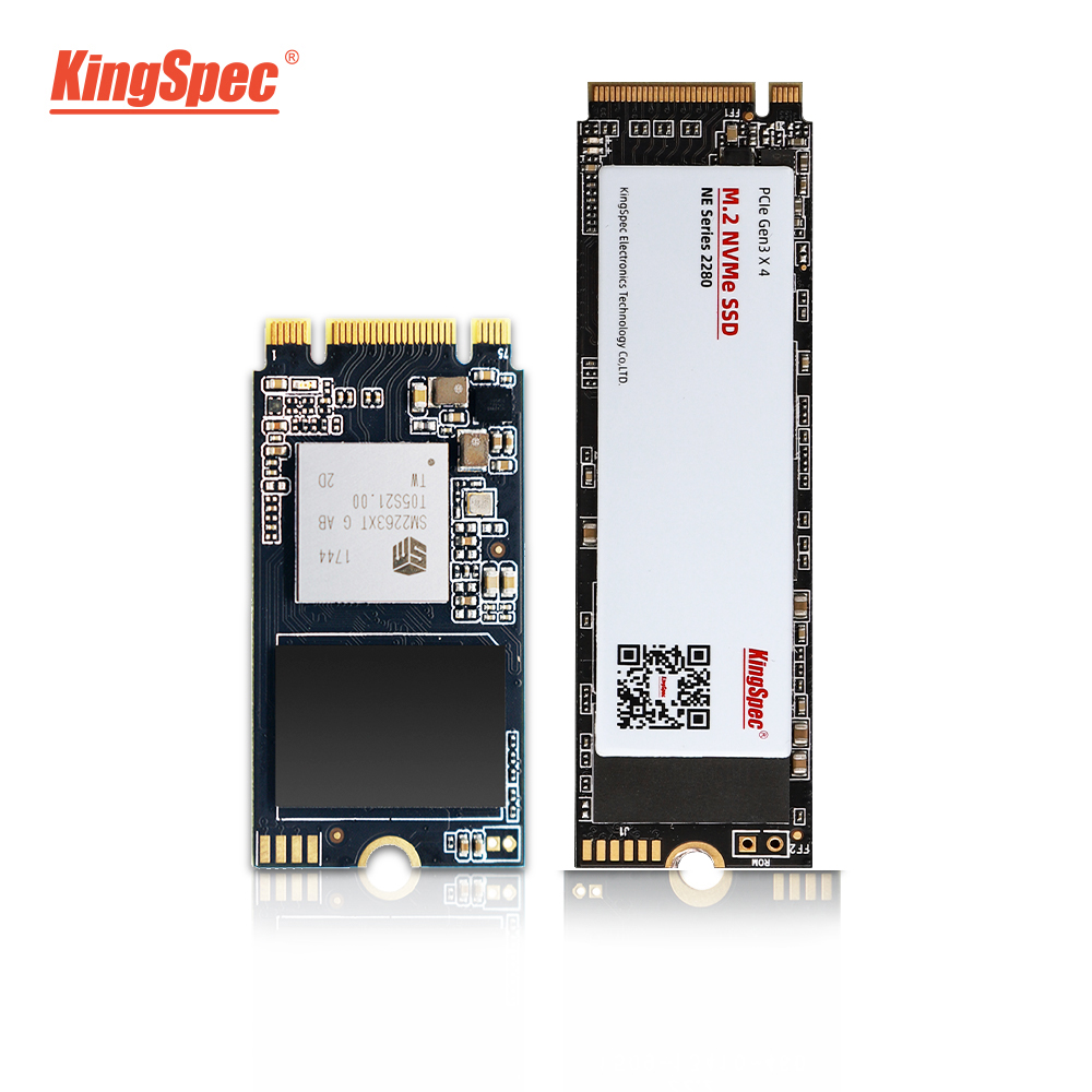 KingSpec M2 SSD PCIe 120GB 240GB 1tb Ssd Ssd M2 2242 NVMe SSD NGFF M.2 Ssd 2280 PCIe NVMe Internal SSD Disk For Laptop Desktop