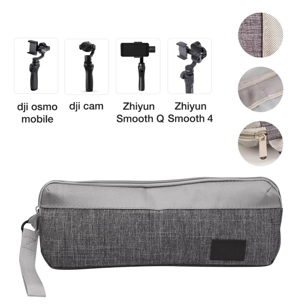 Storage Bag Carrying Case for Zhiyun Smooth 4 Q DJI OSMO Mobile 2 3 handbag Suitcase Nylon Fabric Wear Resistant Accessories