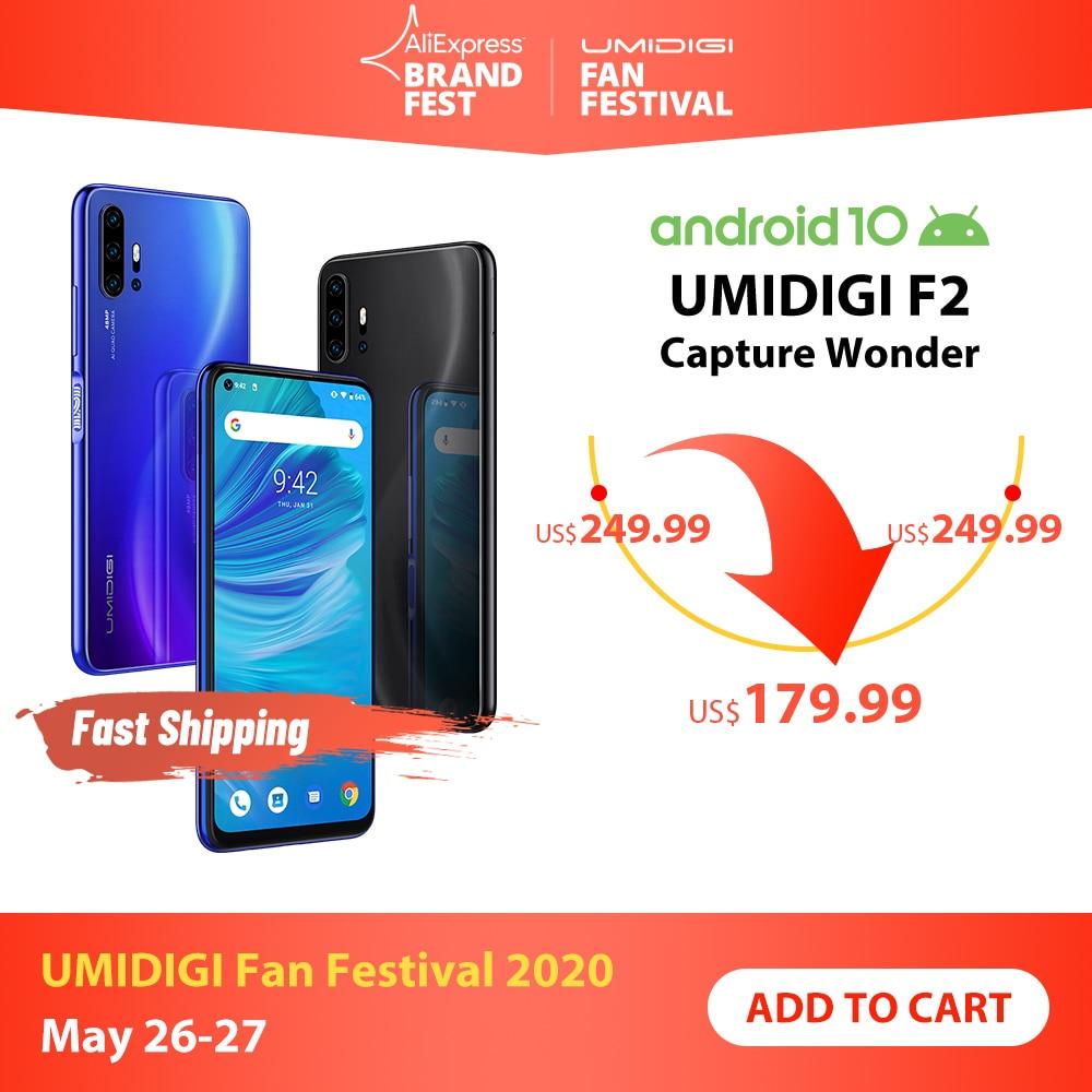 UMIDIGI F2 Android 10 Global Bands 6.53