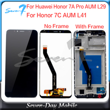 5.7'' 1440x720 IPS for Huawei Honor 7A Pro AUM L29 LCD Display Touch Screen Digitizer For Honor 7C AUM L41 lcd display screen 13 3 laptop lcd screen for n133bge l41 rev c3 ecran laptop lcd display screen suitable asus s300