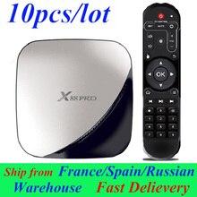 10pcs/lot X88 Pro Android TV Box Smart Box