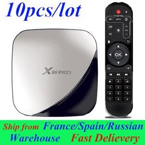 10pcs/lot X88 Pro Android TV B