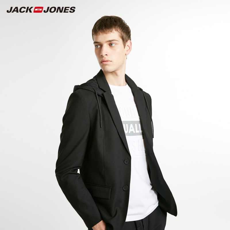 Jackjones Nam Slim Fit Len Thời Trang Casual Áo Menswear Phong Cách Áo Khoác 218408504