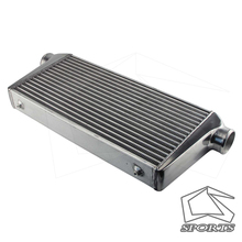 Aluminium Front Mount Buis-Fin Intercooler 600*300*76 Mm In/Outlet 3 \