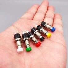6 шт pbs 110 7 мм Мгновенный кнопочный переключатель Пресс переключателя