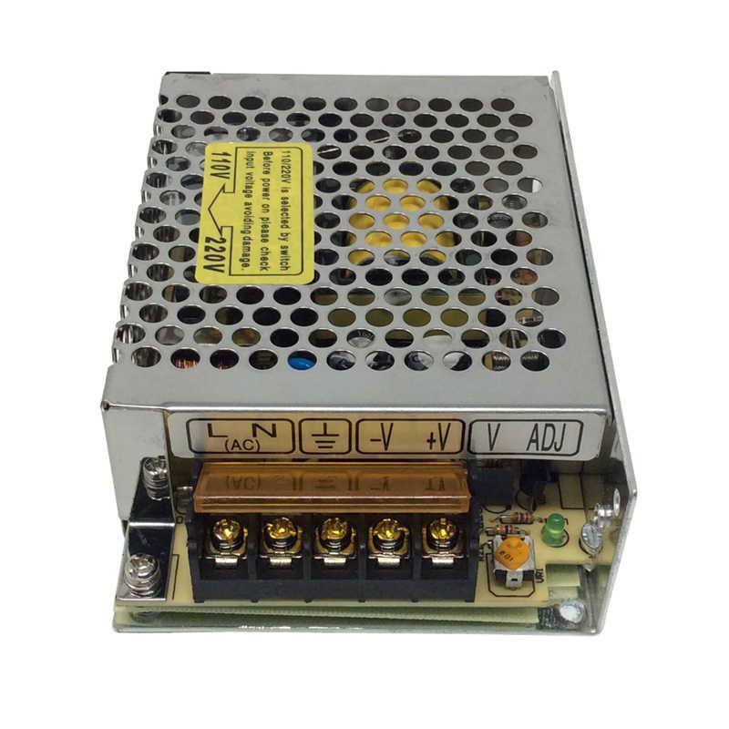 Bricolage moteur à engrenages cc oscillant automatique 12V 24V + alimentation à découpage + contrôleur de vitesse PWM 30 60 90 degrés moteur alternatif bricolage