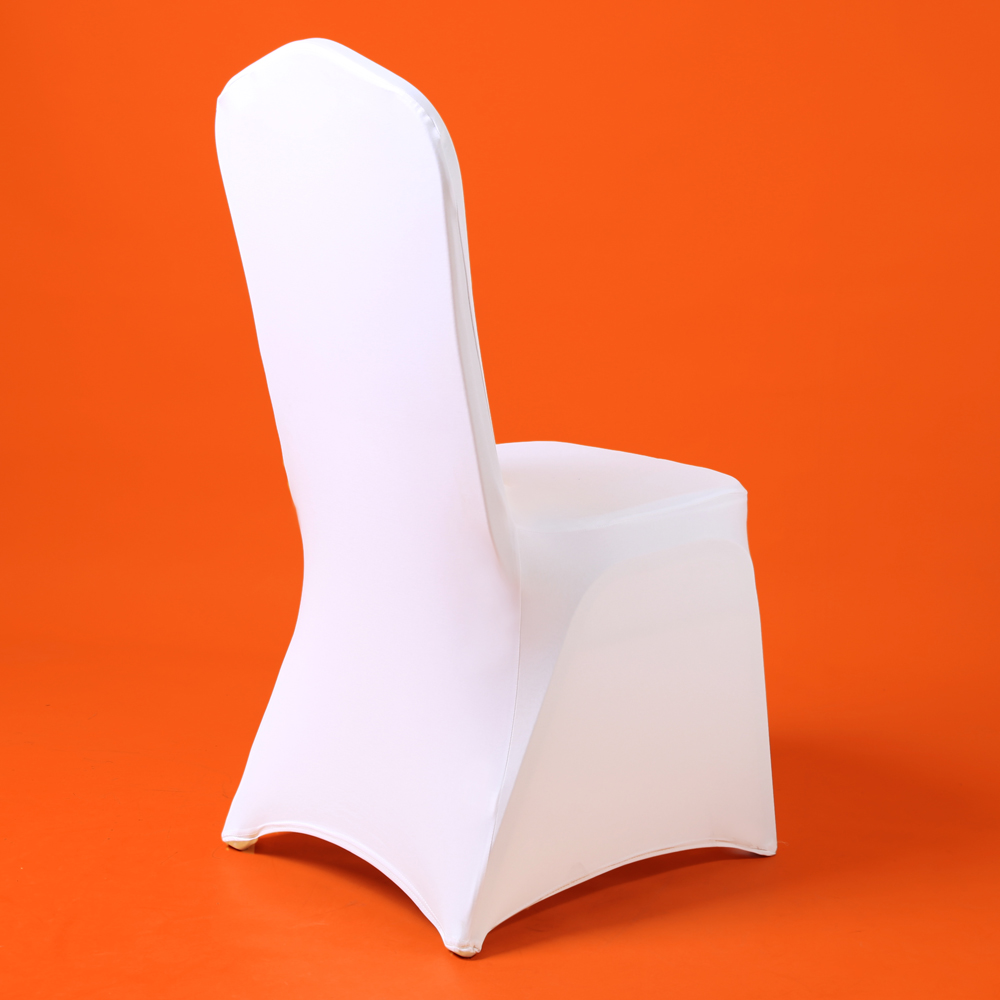 Spandex Chair-Covers Wedding Dining-Party Polyester White Reataurant Banquet Universal