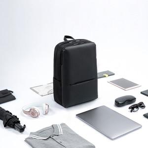 Image 5 - Рюкзак Xiaomi дорожный деловой с 3 карманами, ранец из полиэстера 1260D с большими отделениями на молнии для 15 дюймового ноутбука