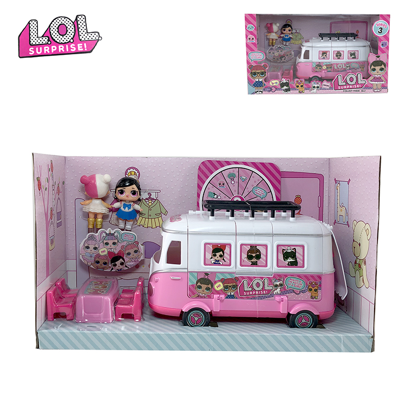 LOL Surprise Original Toy Car Lols Dolls Surprises Action Figure Toys Anime Figures Model Collection DIY Birthday Gifts For Girl