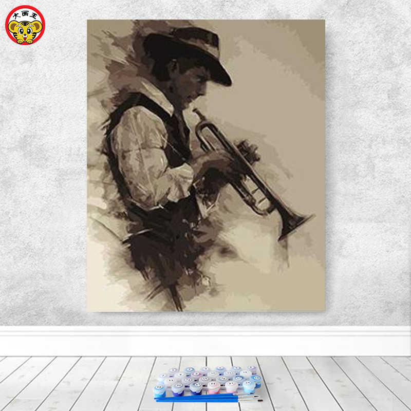 paint by number art painting by numbers anime Musical Instruments