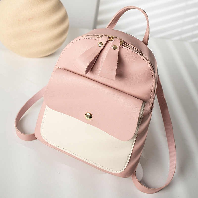 Gaya Korea Perempuan Tas Ransel 2019 Fashion Multi-Fungsi Kecil Back Pack Wanita Bahu Tas Tangan Wanita Bagpack Tas Sekolah pack