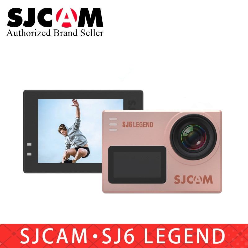 Оригинальная Экшн-камера SJCAM SJ6 Legend, Notavek, 96660 дюйма, 4K, Wi-Fi, водонепроницаемость 30 м, Ultra HD, сенсорный экран 2 дюйма, Спортивная цифровая Экстрема...