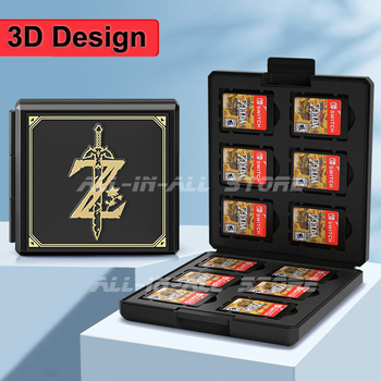 Nintend Switch 12 in 1 Game Card Case Portable Thin Hard Shell Storage Box for Nitendo Switch Nintendoswitch Games Accessories 1