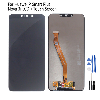 Original For Huawei P Smart Plus LCD Display Touch Screen Digitizer Phone Parts For Nova 3i INE-LX1 INE-L21 Screen LCD Display for oukitel k6000 plus lcd display touch screen digitizer for oukitel k6000 plus display screen lcd phone parts free tools