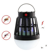 Outdoor Mosquito Killer Lamp Waterproof LED Electronic Home Solar Led Mosquito Repellent Garden Pest Control Tools(China)
