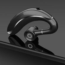 New Q10 Wireless Headphone Earbud Ear Hook Bluetooth 5.0 Earphone 300MAh Single Handfree