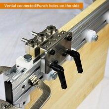Три в одном удар позиционер дюбеля джиг для мебели быстрое соединение деревообрабатывающий сверло руководство набор расположение DIY Набор