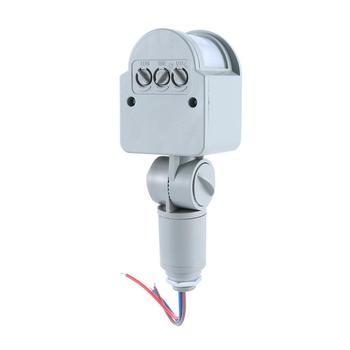 цена на AC 220V DC 12V Infrared PIR Motion Sensor Switch With LED Light Automatic Outdoor Motion Sensor Light Switch 140 Sensor Degrees