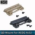 Element Airsoft для ACOG 4x32 Scope Quick Release QD Scope Mount Red Dot Охотничьи аксессуары