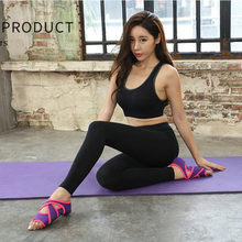 Женская танцевальная обувь нескользящая для йоги фитнеса без