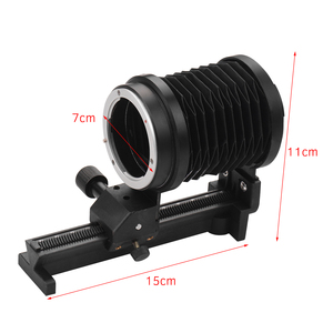 Image 2 - Photography Macro Extension Bellow Photo Studio for Sony NEX E Mount Lens Camera DSLR SLR Cameras Focusing Attachments Accessory