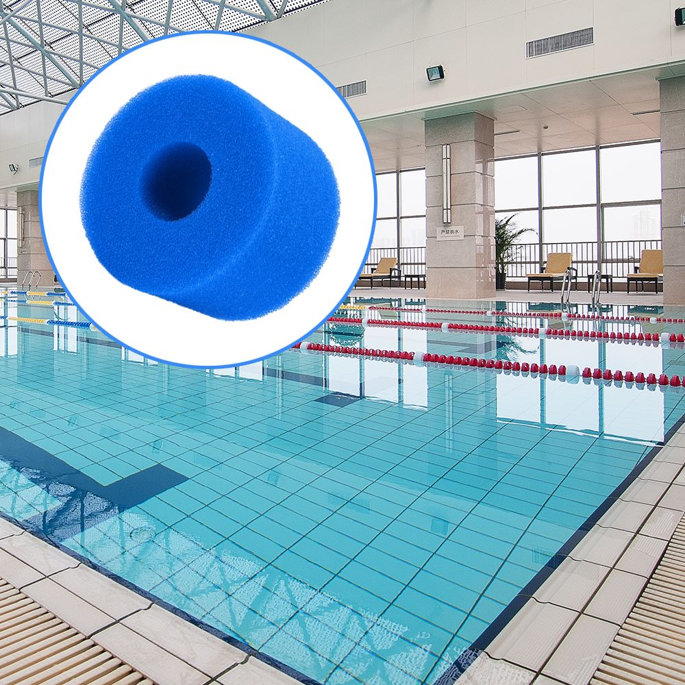 Reusable Washable Swimming Pool Filter Foam 10.8x4x7.3cm Sponge Cartridge Foam Suitable Bubble Jetted Pure SPA For Intex S1 Type(China)