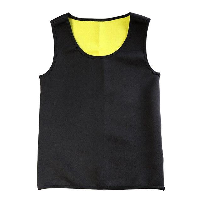 Slimming Belt Belly Men Slimming Vest Body Shaper Neoprene Abdomen Fat Burning Shaperwear Waist Sweat Corset Tank Tops 1