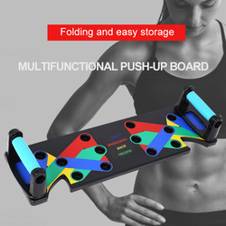9 in 1 Push Up Rack Board abdominal Muscle Training Sports Home Men Women Fitness Equipment for body Building Workout Exercise