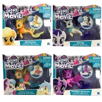My Little Pony Cute Unicorno Doll Mermaid Twilight Sparkle Princess Cadence Princess Celestia Kids Gifts Girl Toy princess poppy mermaid princess