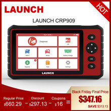 LAUNCH X431 CRP909 OBD2 Car Diagnostic Tool Wifi Full Systems Automotive Scanner ABS SAS DPF EPB Oil Reset OBD 2 Scanner Launch(China)