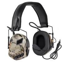 2019 Helmet Update Communication Noise Cancel Headphones Sound Reduction Airsoft Headphones OD / Tan
