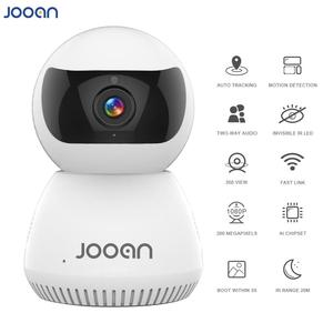 JOOAN IP Camera Wireless AI Smart Wifi Camera Automatic Tracking With Two Way Intercom For Security Surveillance PET Camera(China)