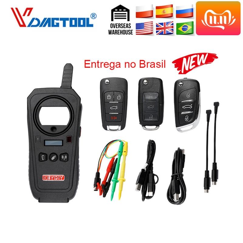 Vdiagtool KEYDIY KD-X2 Car Key Garage Door Remote Kd X2 Generater/Chip Reader/Frequency  With 96bit 48 Transponder Copy Function