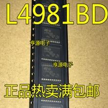 Free shipping 10pcs L4981BD SOP20 L4981B SOP-20 L4981 SOP L4981AD   Brand new original free shipping 10pcs 3bs3lj ice3bs3lj sop