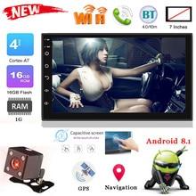 Продукт 7 дюймов 2Din HD BT автомобильный MP5-9218 gps навигация мультимедийный плеер для Android 8,1 FM wifi доступ в Интернет# P20